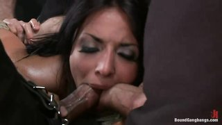 Charming 40 whores gangbang agree, excellent